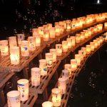 ロータリーデー「オレンジハート運動ライトアップ事業」