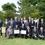 京都市動物園にて植樹式