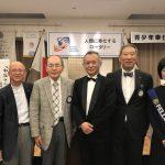 【5月10日】本日の卓話は『和谷さんとハーモニカ』というテーマで、和谷篤樹氏にお話しいただきました。