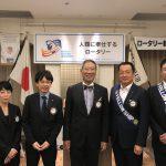 【6月7日】新入会員入会式