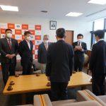 甲賀市内6中学校へ図書カードを贈呈(2020年4月28日)