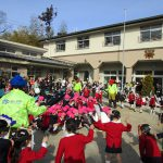 西大寺幼稚園 「豆まき大会」
