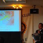 鯖江ロータリークラブ(福井県)2月22日・第2883回例会卓話「お墓を通した世界観」