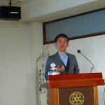 鯖江ロータリークラブ3月8日・第2885回例会卓話「めがねのまち さばえの未来について」