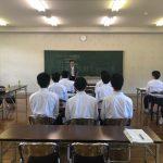 鯖江ロータリークラブ会員による鯖江高校就職模擬面接を