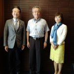 本日、鯖江市役所に佐々木勝久鯖江市長を、そして越前町役場に青柳良彦越前町長を表敬訪問させていただき、ご挨拶をさせていただきました。