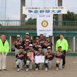 第18回八日市南RC杯学童野球大会開催